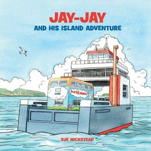 Jay-Jay and his island adventure childrens book