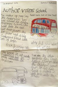 Childrens report on bus book