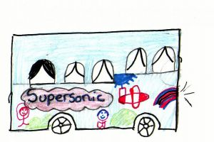 Supersonic Bus