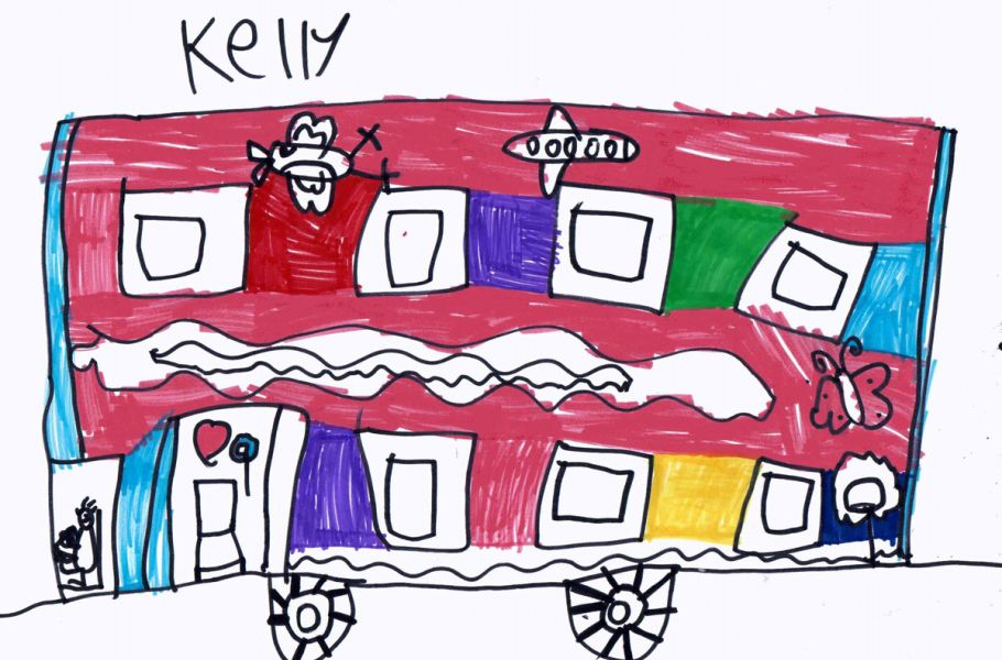 Childrens bus pictures