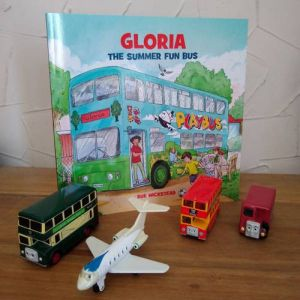 Gloria and cars
