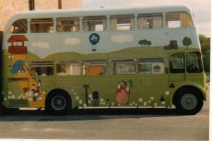 Nursery rhyme bus