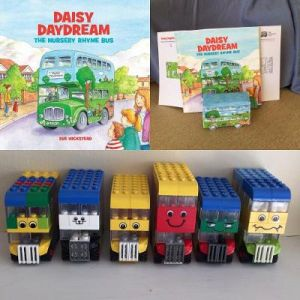 Daisy and the Lego Buses