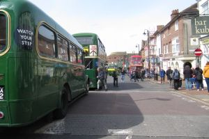 East Grinstead vintage Bus Rally