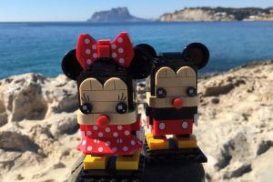 Mickey and Minnie Mouse Lego